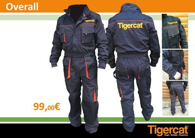 New Tigercat Overall